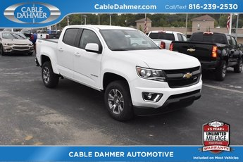2019 Summit White Chevy Colorado 4WD Z71 Truck V6 Engine Automatic 4 Door 4X4
