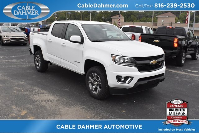 2019 Summit White Chevy Colorado 4WD Z71 4X4 V6 Engine Truck 4 Door