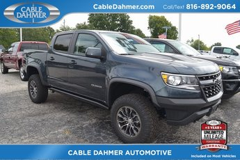 2019 Shadow Gray Metallic Chevy Colorado 4WD ZR2 4X4 4 Door Automatic Truck V6 Engine