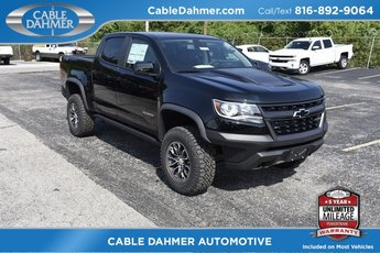 2019 Black Chevy Colorado 4WD ZR2 4X4 Truck 4 Door Automatic