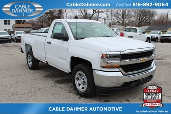 2018 Chevrolet Silverado 1500 Work Truck EcoTec3 5.3L V8 Flex Fuel Engine Automatic Truck 2 Door