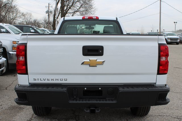 2018 Summit White Chevy Silverado 1500 WT RWD Truck Automatic EcoTec3 5.3L V8 Flex Fuel Engine