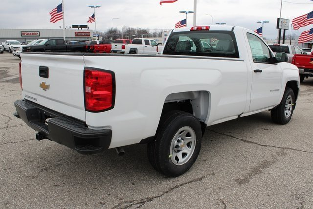 2018 Chevrolet Silverado 1500 WT EcoTec3 5.3L V8 Flex Fuel Engine 2 Door Automatic Truck