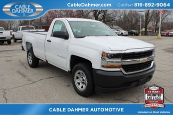 2018 Summit White Chevy Silverado 1500 WT Automatic 2 Door RWD