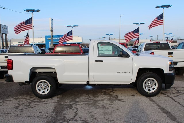 2018 Chevrolet Silverado 1500 WT EcoTec3 5.3L V8 Flex Fuel Engine RWD Automatic