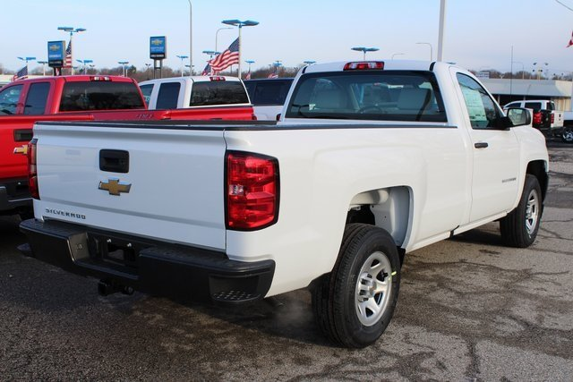 2018 Chevrolet Silverado 1500 WT EcoTec3 5.3L V8 Flex Fuel Engine RWD 2 Door