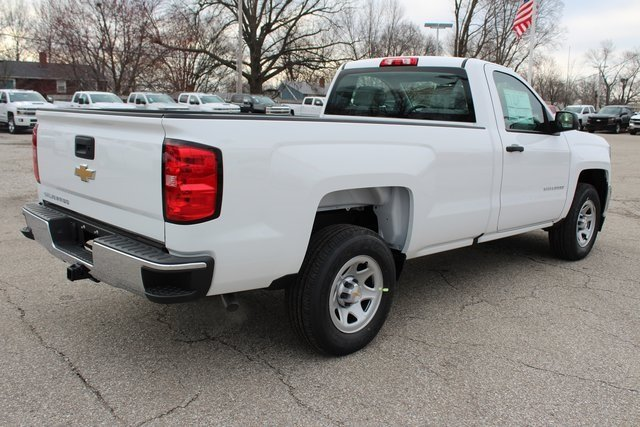 2018 Chevrolet Silverado 1500 WT Truck 2 Door EcoTec3 5.3L V8 Flex Fuel Engine RWD