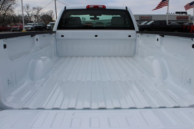 2018 Summit White Chevrolet Silverado 1500 WT EcoTec3 5.3L V8 Flex Fuel Engine RWD Truck 2 Door Automatic
