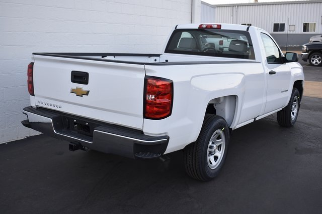 2018 Chevy Silverado 1500 WT 2 Door Truck EcoTec3 5.3L V8 Flex Fuel Engine Automatic