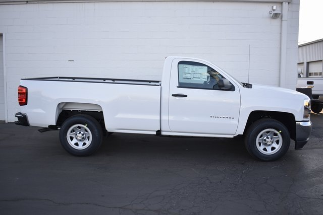 2018 Chevy Silverado 1500 WT RWD Truck 2 Door EcoTec3 5.3L V8 Flex Fuel Engine