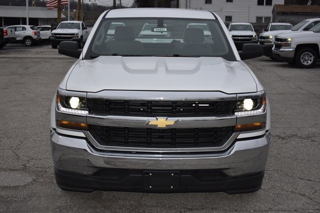 2018 Chevy Silverado 1500 WT EcoTec3 5.3L V8 Flex Fuel Engine RWD 2 Door