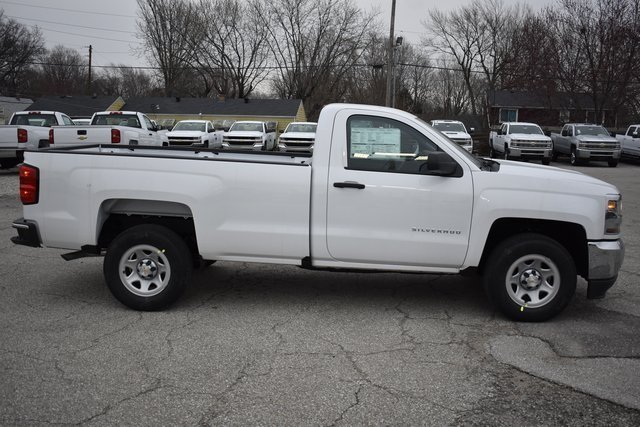 2018 Chevy Silverado 1500 WT RWD EcoTec3 5.3L V8 Flex Fuel Engine Automatic 2 Door Truck