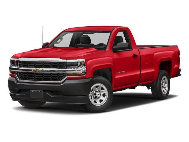 2018 Red Hot Chevy Silverado 1500 Work Truck EcoTec3 4.3L V6 Engine Truck Automatic RWD 2 Door