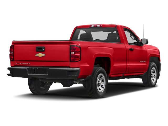 2018 Red Hot Chevy Silverado 1500 Work Truck EcoTec3 4.3L V6 Engine 2 Door RWD Automatic