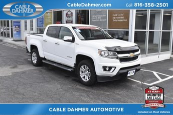 2016 White Chevrolet Colorado 4WD LT Truck 4 Door 2.8L Duramax Turbodiesel Engine 4X4 Automatic