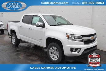 2018 Summit White Chevy Colorado 4WD LT 4 Door 2.8L Duramax Turbodiesel Engine 4X4