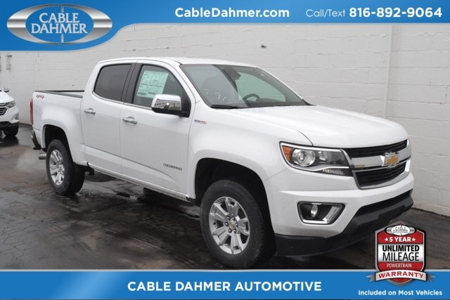 2018 Summit White Chevy Colorado 4WD LT 2.8L Duramax Turbodiesel Engine Automatic 4 Door