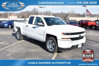 2017 Chevy Silverado 1500 Custom Truck EcoTec3 5.3L V8 Engine 4 Door