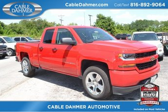 2018 Chevrolet Silverado 1500 Custom Automatic EcoTec3 5.3L V8 Flex Fuel Engine RWD Truck