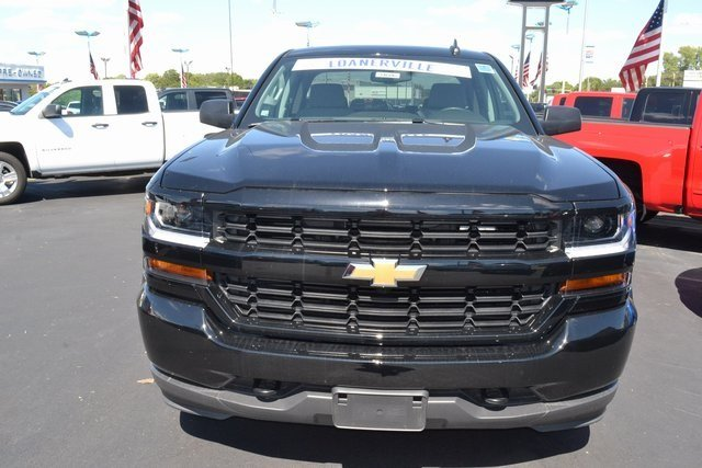 2018 Chevy Silverado 1500 Custom Truck EcoTec3 5.3L V8 Flex Fuel Engine Automatic