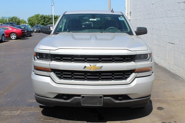 2018 Chevrolet Silverado 1500 Custom 4 Door Truck EcoTec3 5.3L V8 Flex Fuel Engine Automatic