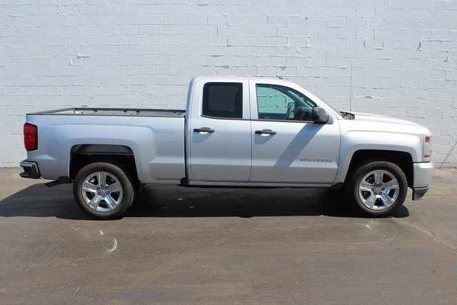 2018 Chevy Silverado 1500 Custom Truck RWD Automatic EcoTec3 5.3L V8 Flex Fuel Engine