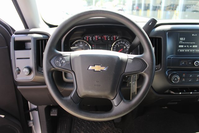 2018 Chevy Silverado 1500 Custom RWD Automatic Truck EcoTec3 5.3L V8 Flex Fuel Engine 4 Door