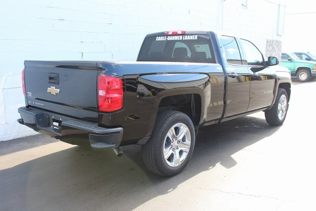 2018 Chevy Silverado 1500 Custom 4 Door EcoTec3 5.3L V8 Flex Fuel Engine Automatic Truck RWD
