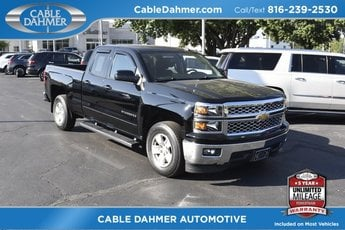 2015 Black Chevy Silverado 1500 LT Truck Automatic RWD 4 Door EcoTec3 5.3L V8 Engine