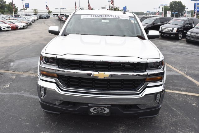 2018 Summit White Chevy Silverado 1500 LT Truck Automatic EcoTec3 5.3L V8 Flex Fuel Engine 4 Door 4X4