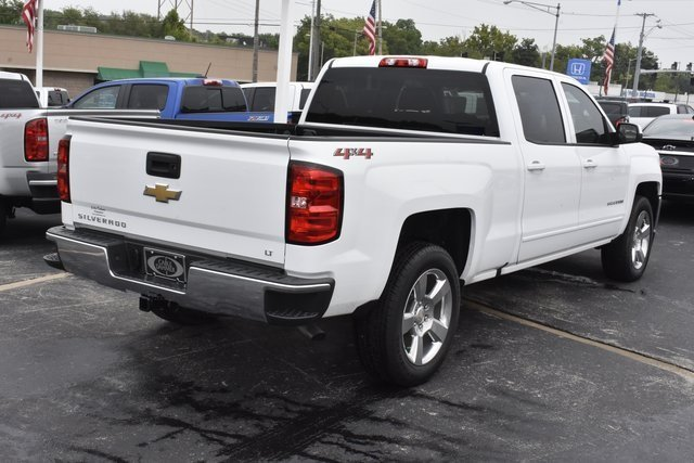 2018 Chevy Silverado 1500 LT EcoTec3 5.3L V8 Flex Fuel Engine 4X4 Truck 4 Door
