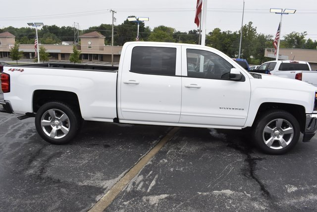 2018 Chevy Silverado 1500 LT 4 Door Automatic 4X4 EcoTec3 5.3L V8 Flex Fuel Engine Truck