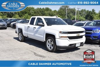 2018 Chevy Silverado 1500 Custom Truck 4 Door 4X4 Automatic
