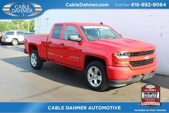 2018 Chevrolet Silverado 1500 Custom Truck 4 Door 4X4 Automatic