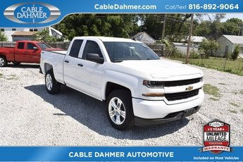 2018 Chevy Silverado 1500 Custom EcoTec3 5.3L V8 Flex Fuel Engine 4X4 Truck Automatic