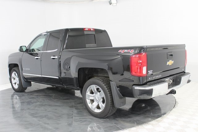 2016 Black Chevrolet Silverado 1500 LTZ 4X4 EcoTec3 5.3L V8 Engine 4 Door
