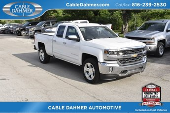 2018 Summit White Chevrolet Silverado 1500 LTZ Truck Automatic 4 Door EcoTec3 5.3L V8 Flex Fuel Engine 4X4