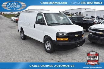 2018 Chevrolet Express 2500 Work Van 6.0L 8-Cylinder Flex Fuel Engine 3 Door Automatic RWD