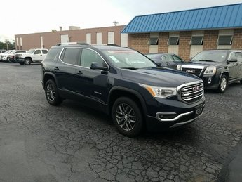 2017 Blue GMC Acadia SLT 4 Door 3.6L V6 SIDI DOHC VVT Engine SUV Automatic FWD