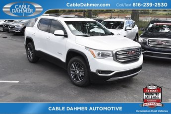 2018 White Frost Tricoat GMC Acadia SLT AWD Automatic 4 Door