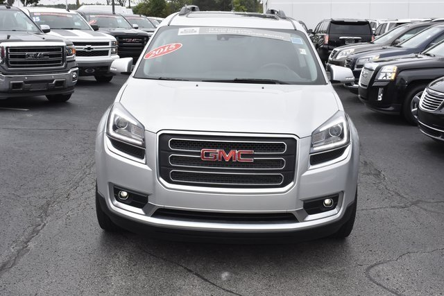 2015 GMC Acadia SLT 4 Door SUV Automatic 3.6L V6 SIDI Engine FWD
