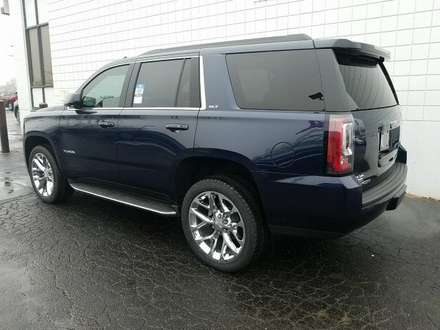 2018 Dark Sapphire Blue Metallic GMC Yukon SLT 4 Door Automatic EcoTec3 5.3L V8 Engine 4X4 SUV