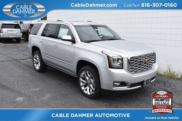 2018 GMC Yukon Denali SUV EcoTec3 6.2L V8 Engine 4 Door Automatic 4X4