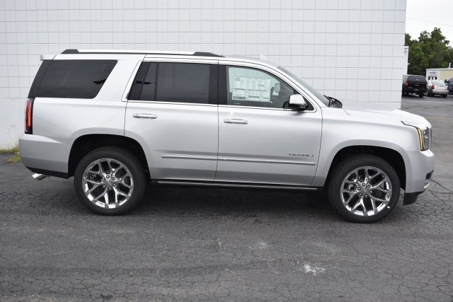 2018 Quicksilver Metallic GMC Yukon Denali 4 Door EcoTec3 6.2L V8 Engine Automatic SUV