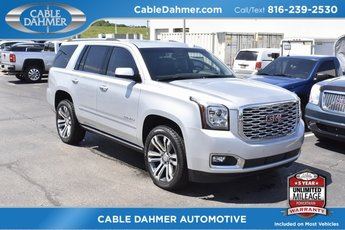 2018 Quicksilver Metallic GMC Yukon Denali Automatic 4X4 SUV