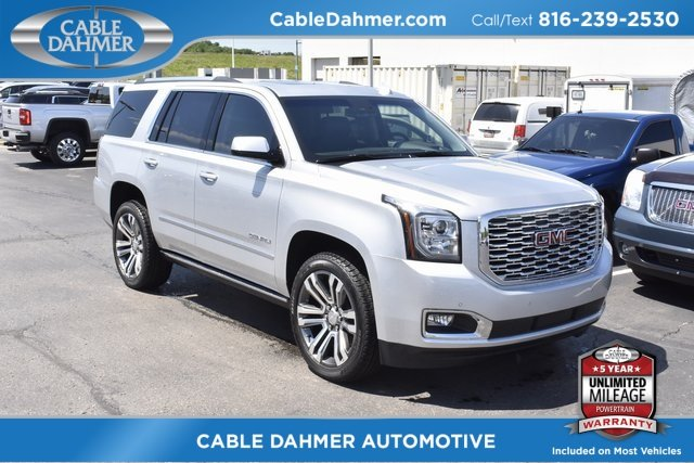 2018 GMC Yukon Denali Automatic SUV 4 Door 4X4 EcoTec3 6.2L V8 Engine