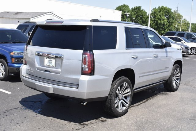 2018 Quicksilver Metallic GMC Yukon Denali SUV 4X4 EcoTec3 6.2L V8 Engine 4 Door
