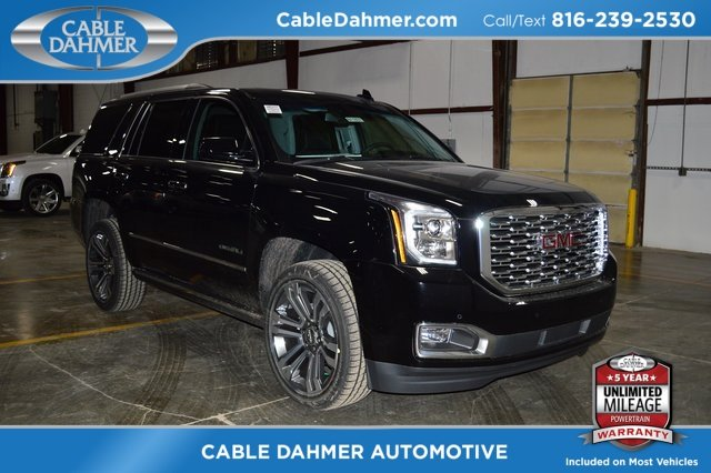2018 Onyx Black GMC Yukon Denali 4 Door 4X4 SUV EcoTec3 6.2L V8 Engine Automatic