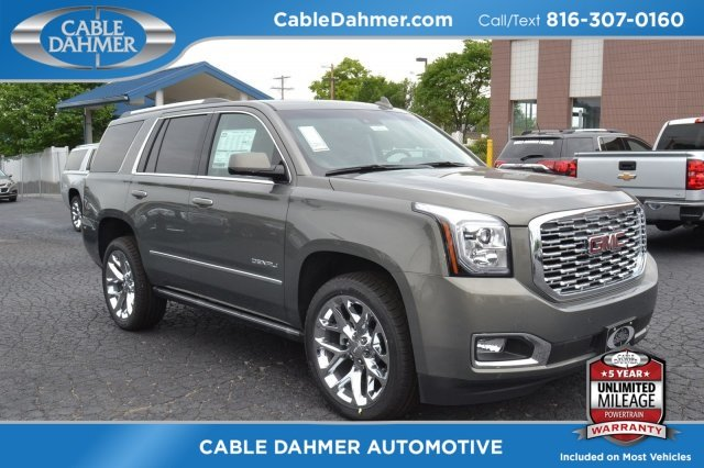 2018 GMC Yukon Denali 4 Door Automatic 4X4 & 2018 GMC Yukon Denali 4X4 SUV For Sale Near Kansas City MO - B6232