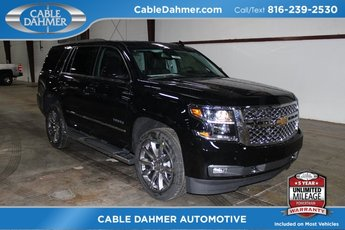2018 Black Chevrolet Tahoe LT EcoTec3 5.3L V8 Flex Fuel Engine 4 Door 4X4 Automatic SUV